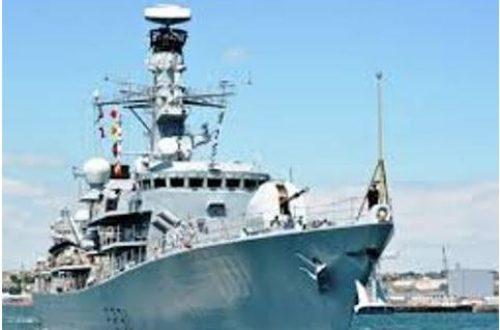 Article : L'arrivée équivoque de la Marine britannique en Haïti
