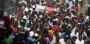 Tensions et manifestations a Port-au-Prince